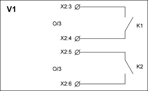 Устройство контроля положения запорной арматуры V1